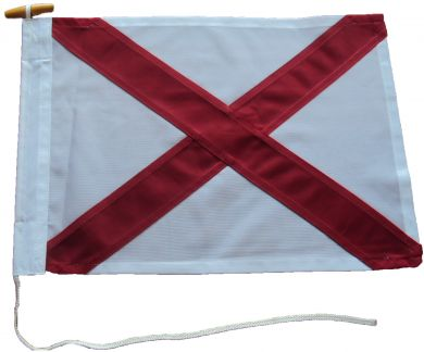 24x18in 60x45cm Victor V signal flag US Navy Size 2